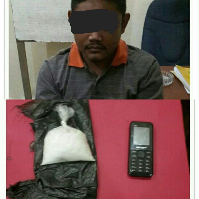 Polisi Dumai Berhasil Tangkap Pengedar Sabu diparkiran Family Karoke PING