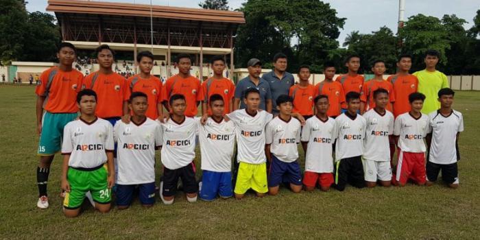 Dari 12 Pemain, Rofi Ramatullah Harun Putra Bengkalis Ikut Seleksi Timnas U-16 di Jakarta