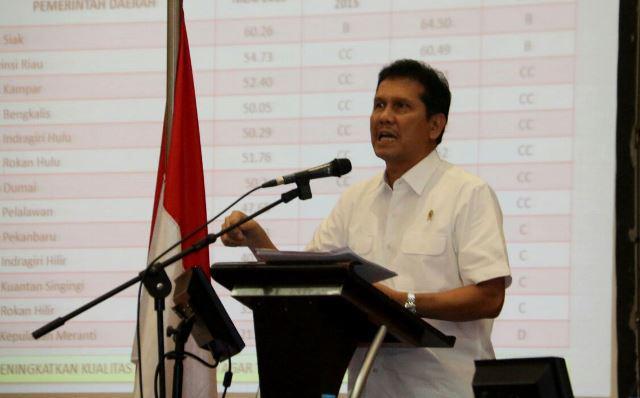 MENPANRB Asman Abnur:  Kunci Sukses SAKIP Ada Pada Perencanaan Daerah