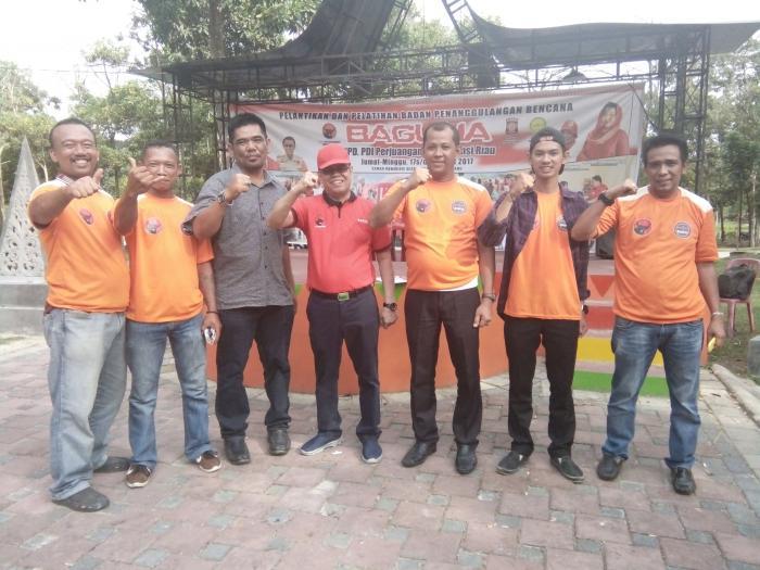 Kepala Baguna DPD PDI Perjuangan Riau: Bengkalis Harus Lebih Baik!..