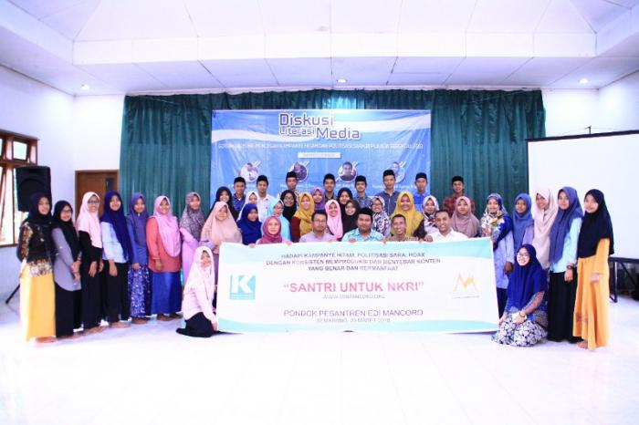 Santri Jawa Tengah Siap Membuat Konten Menghadapi Kampanye Hitam, Hoax dan Politisasi Agama
