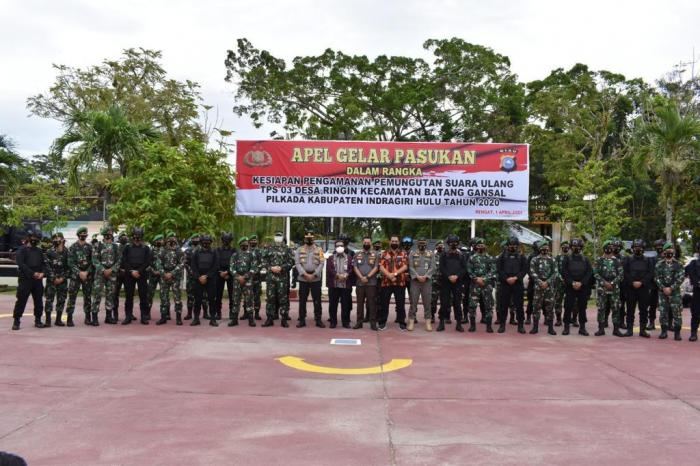 Polda Riau Siapkan Personel Bantu Pengamanan PSU di Inhu dan Rohul