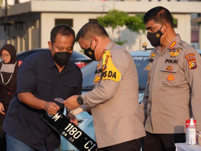 Kapolda Riau: Konsistensi Kami Menjadi Kunci Dalam Memburu Para Pelaku Narkoba