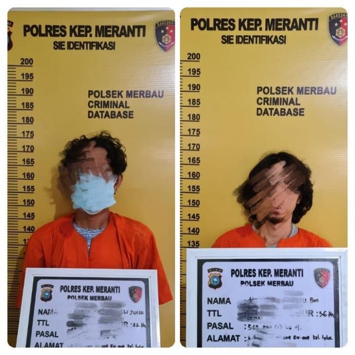 Polisi Tangkap 2 Orang Terkait Kasus Pembongkaran Travo Listrik PT. EMP di Merbau