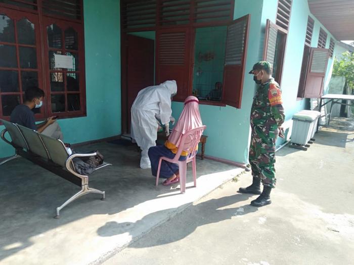 TNI-Polri Wilayah Bengkalis Terus Pantau Penerapan Protokol Kesehatan Warga
