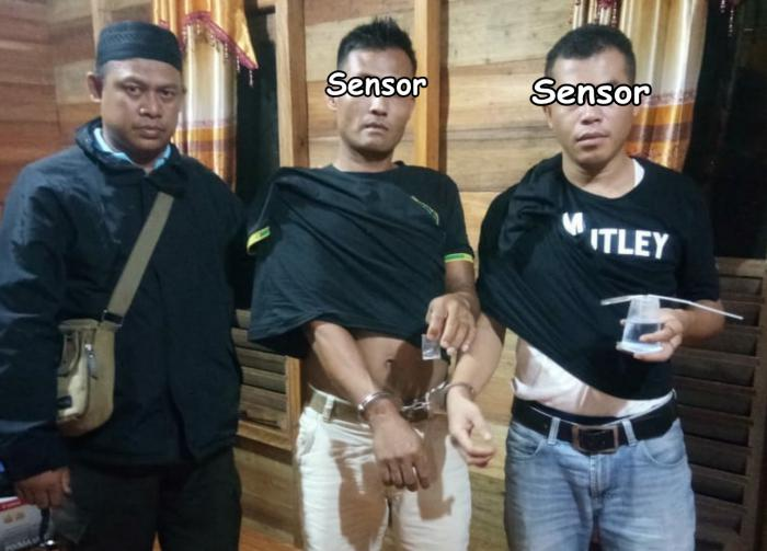 Nyabu di Kamar, 2 Pria di Meranti Digerebek Polisi