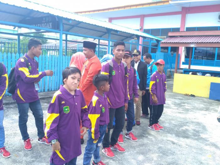 Ikuti Peparpeda Riau, 17 Atlet dan Official Meranti Berangkat ke Pekanbaru