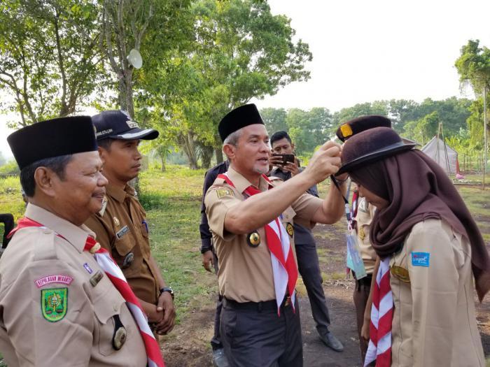 Wabup Buka Kegiatan Perkemahan Pejuang Bangsa Gerakan Pramuka