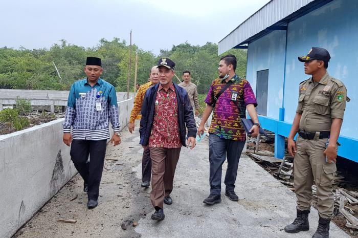 Wabup Kunker di Kecamatan Tebingtinggi Timur