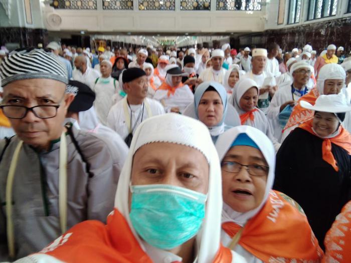 23 Agustus Jemaah Haji Meranti Balik Kampung