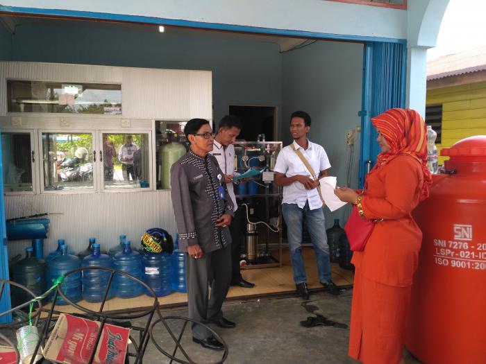 LPKSM Himbau Pengusaha Depot Taat Aturan