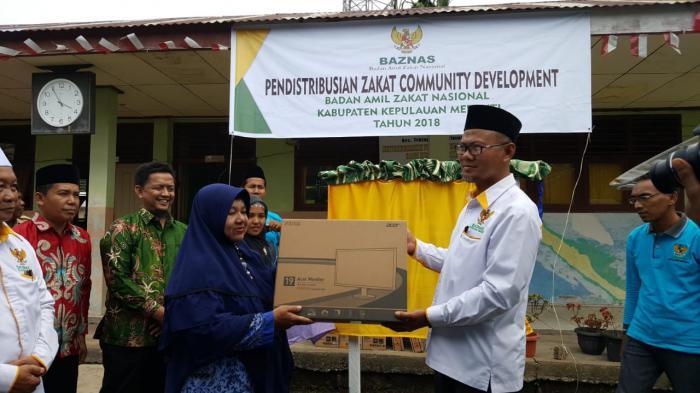 Meranti Pilot Project Program ZCD Baznas, Tahap Awal Usulan 5 Desa Capai Rp2,9 Miliar