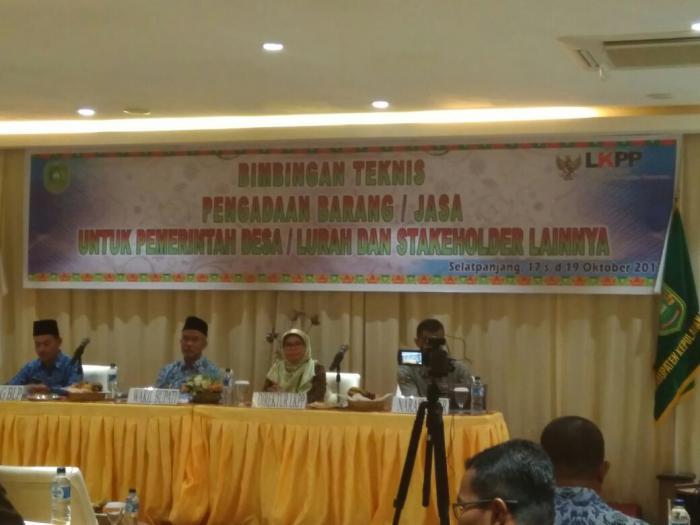 Wabup Said Hasyim Ingatkan Kades Hati-hati Gunakan Dana Desa