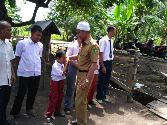 Prihatin, Said Hasyim Berkunjung ke SLB Sekar Meranti