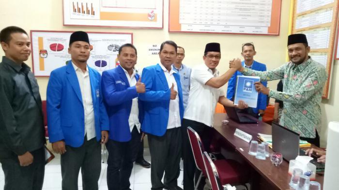 DPD PAN Meranti Mendaftar Jadi Peserta Pemilu 2019 ke KPU