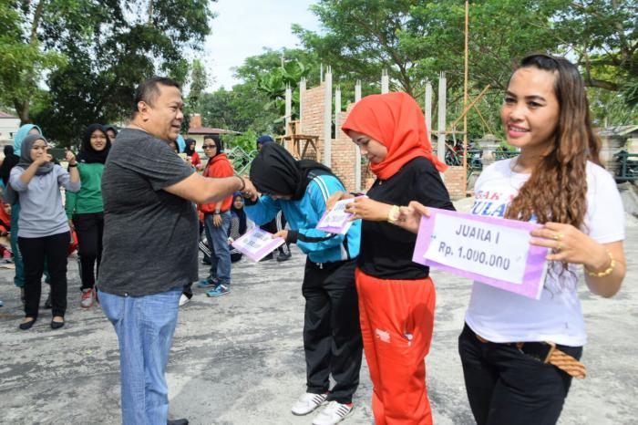 DPRD Meranti Jalin Kekompakan ASN dan Tenaga Honorer malalui Lomba Senam