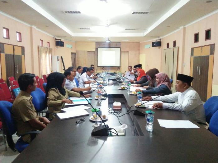 Rapat bersama Dishub dan Setdakab Meranti, DPRD Bahas Soal Ranperda Lalulintas dan Angkutan Umum