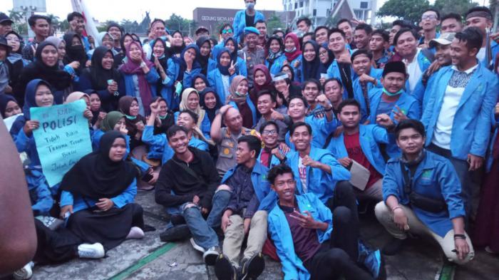 Berlangsung Damai, Aksi Mahasiswa di Riau Bisa Jadi Role Mode Demo di Indonesia
