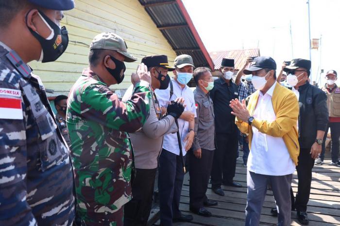 Amankan Kunjungan Gubri ke Meranti, Polres Kerahkan Puluhan Personel