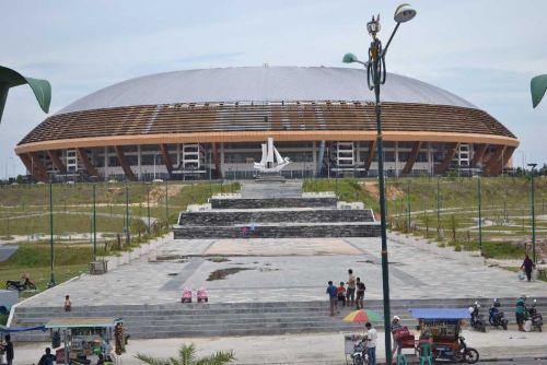 Terbengkalai, Jaksa Agung sorot Stadion Utama Riau