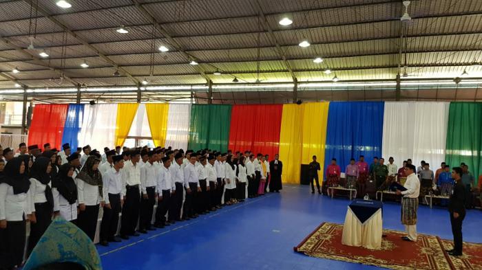 Sekda Lantik Anggota BPD 28 Desa di Meranti